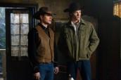 "Jensen Ackles and Jared Padalecki in SUPERNATURAL - Season 6 - ""Frontierland"" | ©2011 The CW/Jack Rowand"