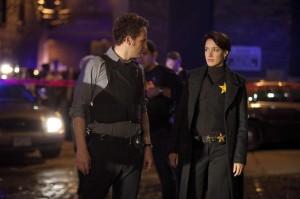 "Jason Clarke and Jennifer Beals in THE CHICAGO CODE - Season 1 - ""Black Sox"" | ©2011 Fox/Jeffrey Garland"