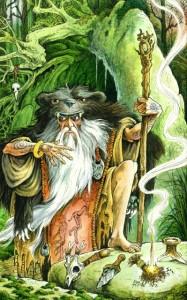 artwork from THE WILDWOOD TAROT book