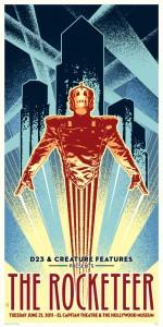 The Rocketeer special screening poster | ©2011 Disney