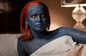 Jennifer Lawrence in X-MEN: FIRST CLASS | ©2011 20th Century Fox