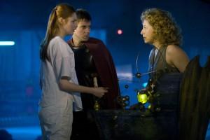 Karen Gillan, Arthur Darvill, and Alex Kingston in DOCTOR WHO - Series 6 - Episode 7 | ©2011 BBC
