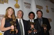 Anna Torv, Jeff Pinkner, Joel Wyman, John Noble at the 37th Annual Saturn Awards | ©2011 Sue Schneider