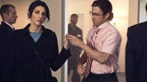 "Gina Bellman and Christian Kane in LEVERAGE - Season 4 - ""The Hot Potato Job"" | ©2011 TNT/Erik Heinila"