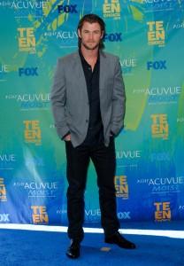 Chris Hemsworth at the TEEN CHOICE 2011 Awards   ©2011 Sue Schneider