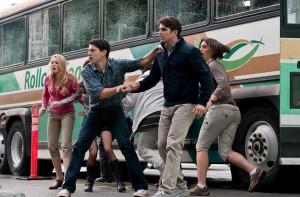 Emma Bell, Miles Fisher and Nicholas D'Agosto in FINAL DESTINATION 5 - actors 2 | ©2011 Warner Bros.