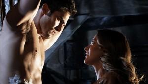 "Tyler Hoechlin and Jill Wagner in TEEN WOLF - Season 1 - ""Formality"" | ©2011 MTV"