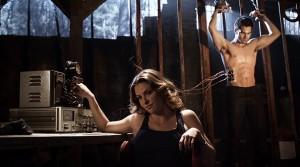 "Jill Wagner and Tyler Hoechlin in TEEN WOLF - Season 1 - ""Formality"" | ©2011 MTV"