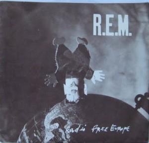 "R.E.M. - ""Radio Free Europe"" single   ©I.R.S."