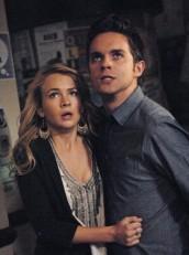 "Britt Robertson and Thomas Dekker in THE SECRET CIRCLE - Season 1 - ""Loner"" | ©2011 The CW/Sergei Bachlakov"