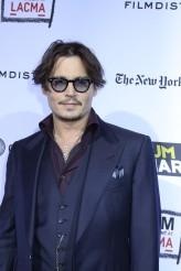 Johnny Depp at the World Premiere of RUM DIARY | ©2011 Sue Schneider