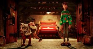 Arthur and Grandsanta in ARTHUR CHRISTMAS | ©2011 Sony Picures Home Entertainment