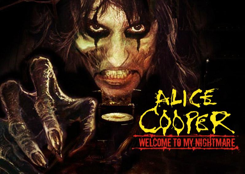 alice cooper welcome to my nightmare maze at universal studios halloween horror nights 2011