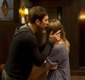 "Dylan McDermott and Taissa Farmiga in AMERICAN HORROR STORY - Season 1 - ""Rubber Man""   ©2011 FX/Prashant Gupta"