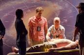 "Jennifer Carpenter, Michael C. Hall, C.S. Lee and David Zayas in DEXTER - Season 6 - ""Get Gellar"" | ©2011 Showtime/Randy Tepper"