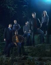 Sasha Roiz, Reggie Lee, Russell Hornsby, Silas Weir Mitchell, David Giuntoli and Bitsie Tulloch in GRIMM - Season 1 | ©2011 NBC/Eric Ogden