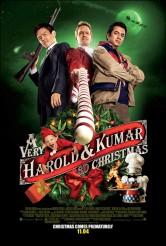 A VERY HAROLD & KUMAR 3D CHRISTMAS movie poster | ©2011 New Line Cinemas