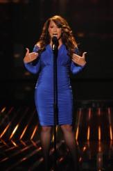 "Melanie Amaro performs on THE X FACTOR - Season 1 - ""The Top 9 Perform"" | ©2011 Fox/Ray Mickshaw"