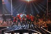 "Stereo Hogzz on THE X FACTOR - Season 1 - ""The Top 12 Perform"" | ©2011 Fox/Ray Mickshaw"