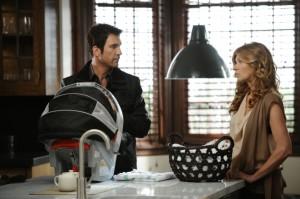 "Dylan McDermott and Connie Britton in AMERICAN HORROR STORY - Season 1 - ""Afterbirth"" | ©2011 FX/Prashant Gupta"