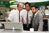"Scott Krinsky, Danny Pudi and Joshua Gomez in CHUCK - Season 5 - ""Vs. The Hack Off"" | ©2011 NBC/Matt Kennedy"