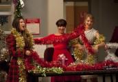 "Jenna Ushkowitz, Lea Michele and Dianna Agron in GLEE - Season 3 - ""Extraordinary Christmas"" | ©2011 Fox/Adam Rose"