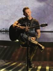 "Chris Rene in THE X FACTOR - Season 1 - ""The Top 5 Perform""   ©2011 Fox/Ray Mickshaw"