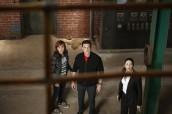 "Allison Scagliotti, Eddie McClintock and Joanne Kelly in WAREHOUSE 13 - Season 3 - ""The Greatest Gift"" | ©2011 Syfy/Russ Martin"