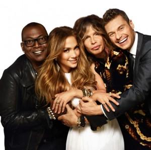 Randy Jackson, Jennifer Lopez, Steven Tyler and Ryan Seacrest in AMERICAN IDOL - Season 11 | ©2012 Fox/Warwick Saint