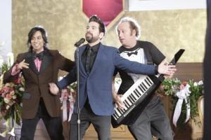 "Vik Sahay, Joshua Gomez and Scott Krinsky in CHUCK - Season 2 - ""Vs. The Ring"" | ©NBC/Chris Haston"