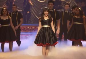 "Lea Michele in GLEE - Season 3 - ""On My Way"" | ©2012 Fox/Adam Rose"