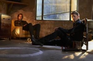 Jared Padalecki and Jensen Ackles in SUPERNATURAL - Season 7 | ©2011 The CW/Frank Ockenfels