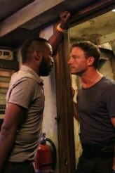 "Shaun Parkes and Thomas Kretschmann in THE RIVER - Season 1 - ""The Experiment"" | ©2012 ABC/Mario Perez"