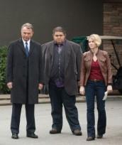 "Sam Neill, Jorge Garcia and Sarah Jones in ALCATRAZ - Season 1 - ""Clarence Montgomery"" | ©2012 Fox/Liane Hentscher"