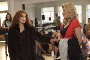 "Bernadette Peters and Megan Hilty in SMASH - Season 1 - ""The Workshop"" | ©2012 NBC/Eric Liebowitz"