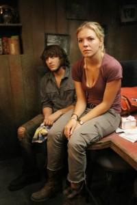 "Eloise Mumford and Scott Michael Foster in THE RIVER - Season 1 - ""A Better Man"" | ©2012 ABC/Mario Perez"