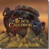 THE BLACK CAULDRON soundtrack   ©2012 Intrada Records