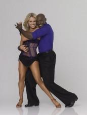 Peta Murgatroyd and Donald Driver on DANCING WITH THE STARS - Season 14 | ©2012 ABC/Bob D'Amico