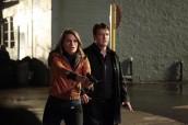 Stana Katic as Beckett and Nathan Fillion as Castle on CASTLE Undead Again | (c) 2012 ABC/RICHARD CARTWRIGHT