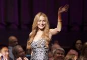 """Lindsay Lohan in GLEE - Season 3 - """"Nationals""""   ©2012 Fox/Adam Rose"""