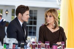 Josh Henderson and Linda Gray in DALLAS - Season 1 | ©2012 TNT/Erik Heinla