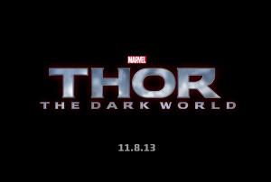 THOR: THE DARK WORLD logo | ©2012 Marvel Studios