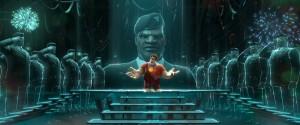 Ralph tries to enlist in Hero's Duty in WRECK-IT RALPH | ©2012 Walt Disney Pictures
