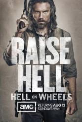 HELL ON WHEELS - Season 2 Key Art | ©2012 AMC