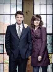 Emily Deschanel and David Boreanaz in BONES - Season 8   ©2012 Fox/Brian Bowen Smith