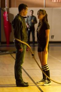 "Jacob Artist and Melissa Benoist in GLEE - Season 4 - ""Britney 2.0"" | ©2012 Fox/Adam Rose"
