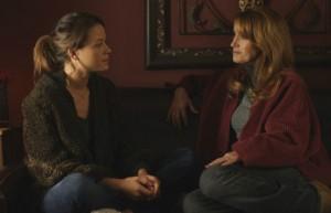 Scottie Thompson and Jane Seymour in LAKE EFFECTS   ©2012 Hallmark Movie Channel