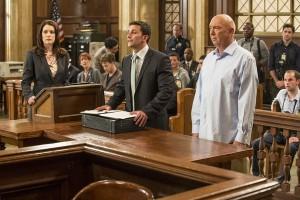 "Paget Brewster, Jason Cerbone and Dann Florek in LAW & ORDER: SPECIAL VICTIMS UNIT - Season 14 - ""Lost Reputation"" | ©2012 NBC/David Giesbrecht"