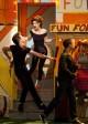 "Blake Jenner, Melissa Benoist, Jacob Artist and Jenna Ushkowitz in GLEE - Season 4 - ""Glease""| ©2012 Fox/Adam Rose"