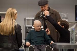 "Anna Torv, John Noble, Joshua Jackson and Rowan Longworth in FRINGE - Season 5 - ""Anomaly XB-6783746"" | ©2012 Fox/Liane Hentscher"
